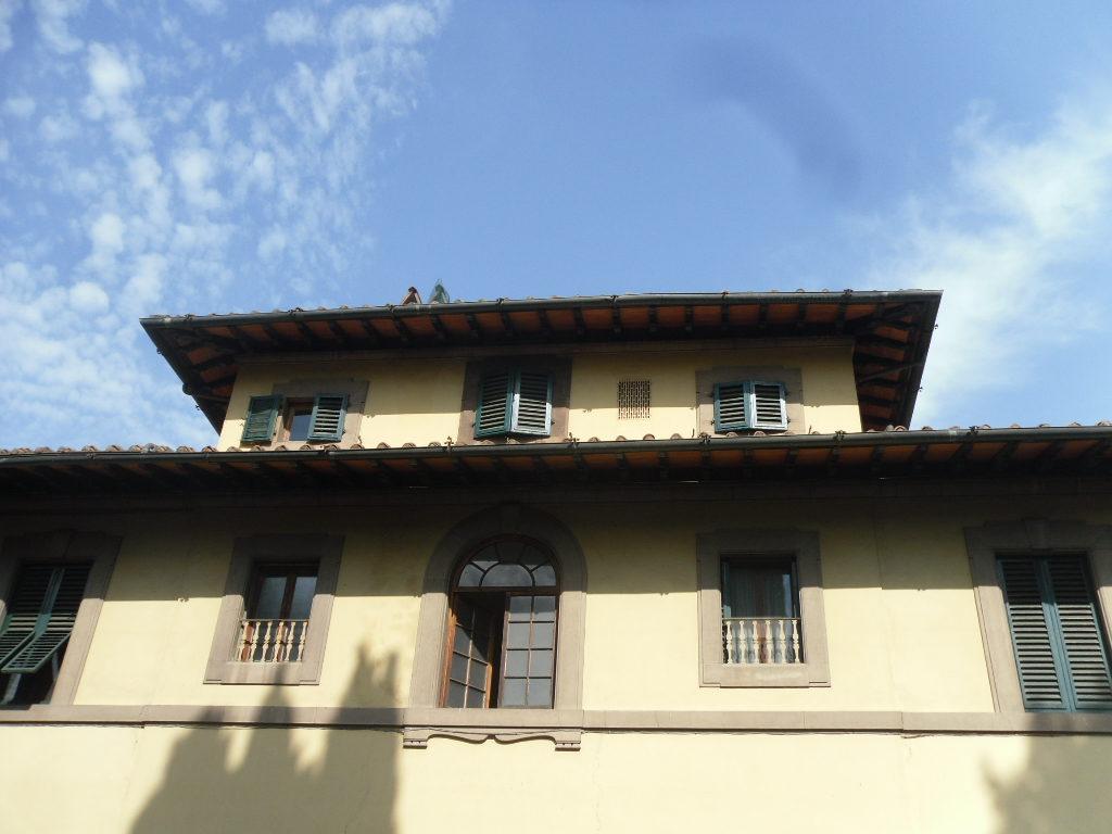 Bolognese in villa signorile mansarda 4 vani con terrazzina abitabile
