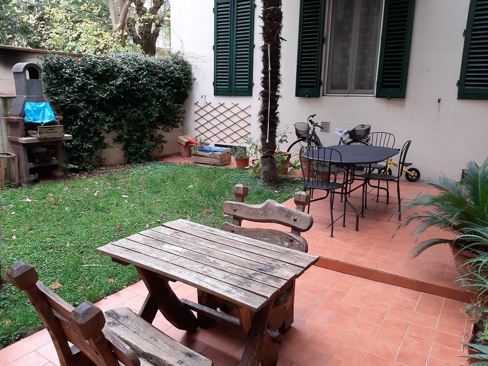 Masaccio pressi in palazzina d'epoca Ottimo 3 vani(mq74sul)con giardino mq 60